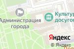 Схема проезда до компании Управление культуры г. Батайска в Батайске
