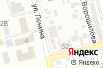 Схема проезда до компании Эксперт-Сервис в Батайске
