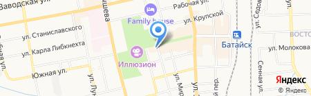 Непоседа на карте Батайска