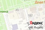 Схема проезда до компании Аннушка в Батайске