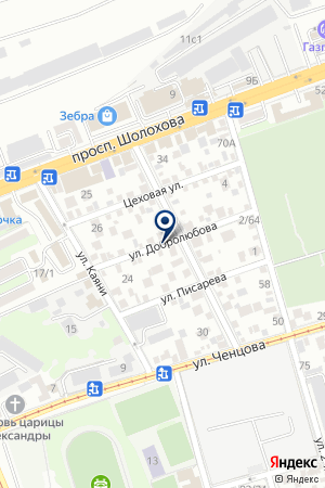 АВТОМАГАЗИН КОМСТАР на карте Новочеркасска