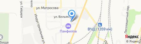 ДЮСШ на карте Батайска