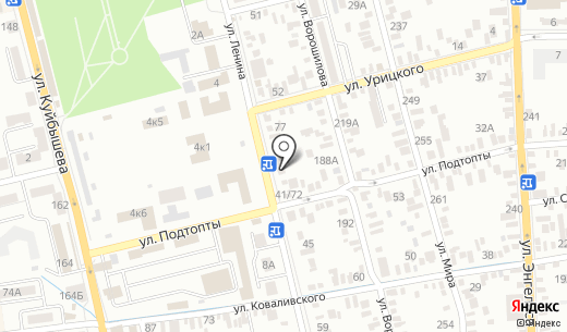 Мика. Схема проезда в Батайске