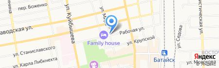 ЕВА на карте Батайска