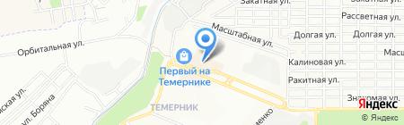 Золотая Рыбка на карте Ростова-на-Дону