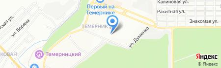 Миклуха на карте Ростова-на-Дону