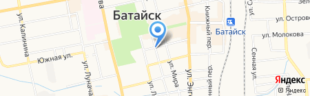 Росгосстрах Банк на карте Батайска