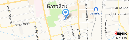 Банкомат Росгосстрах Банк на карте Батайска