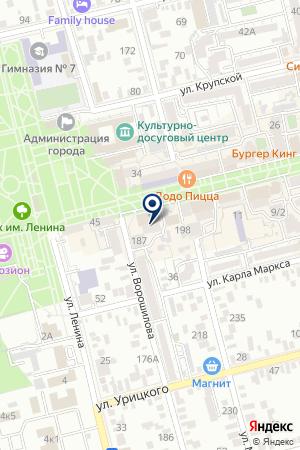 ГУ ПОЖАРНАЯ ЧАСТЬ №12 на карте Сальска
