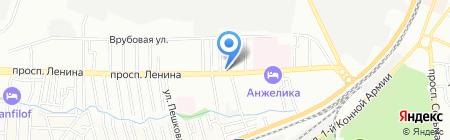 Универсальный на карте Ростова-на-Дону