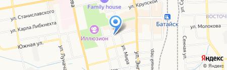 Управление по архитектуре и градостроительству г. Батайска на карте Батайска