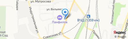 Почтовое отделение №2 на карте Батайска