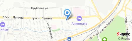 Средняя общеобразовательная школа №3 на карте Ростова-на-Дону