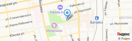 Риана на карте Батайска
