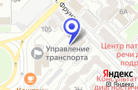 Схема проезда до компании РЕНЕССАНС в Рязани