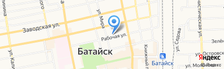 Детский сад №121 Звездочка на карте Батайска