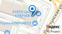 Компания Тойота на карте