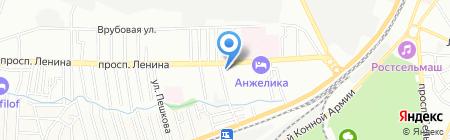 Добрый Паркет на карте Ростова-на-Дону