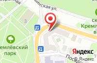 Схема проезда до компании Униклайн в Рязани