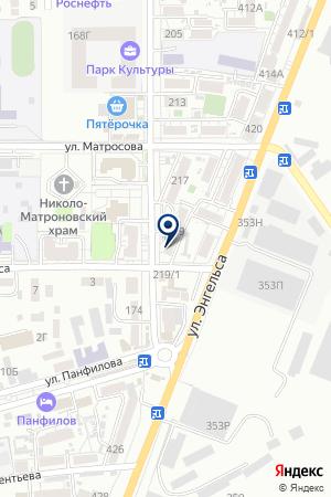 АПТЕКА ДОНСВЕТМЕД на карте Батайска