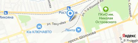 ГрузРостов на карте Ростова-на-Дону