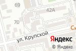 Схема проезда до компании Доверие в Батайске