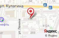 Схема проезда до компании Трест Строймонтаж в Батайске