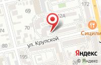Схема проезда до компании Ростов-Окна в Батайске