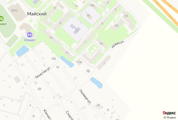 продажа квартир Майский, 7Б