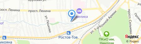 АВКОММ на карте Ростова-на-Дону