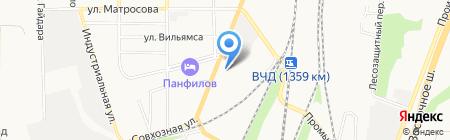 Магазин-склад сантехники на карте Батайска