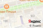 Схема проезда до компании ДНС в Батайске