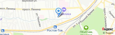 Гостсервис на карте Ростова-на-Дону