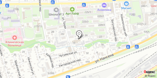 ROSHEN. Схема проезда в Ростове-на-Дону