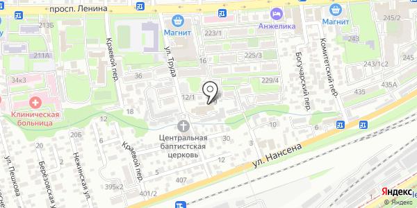 Астра-Дон. Схема проезда в Ростове-на-Дону