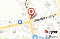 Схема проезда до компании Малко в Батайске