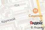 Схема проезда до компании Маковка в Батайске