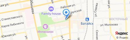 Платежный терминал АКБ МОСОБЛБАНК на карте Батайска