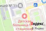 Схема проезда до компании Детская городская больница №1 в Ростове-на-Дону