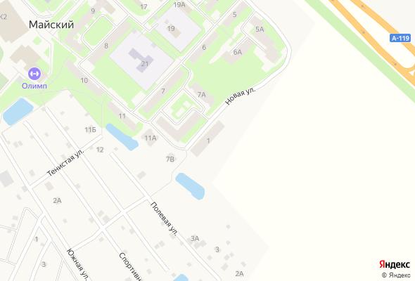 жилой комплекс Новая,1