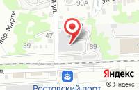 Схема проезда до компании Елтон в Ростове-На-Дону