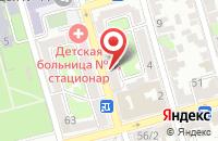 Схема проезда до компании Стрела в Ростове-На-Дону