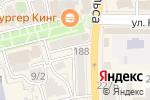 Схема проезда до компании Косметичка в Батайске