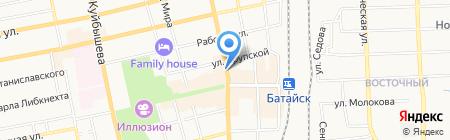 Ростовский городской ломбард на карте Батайска