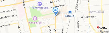 Аптека.ру на карте Батайска