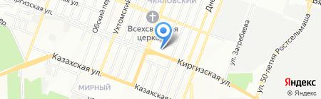 Аптека №274 на карте Ростова-на-Дону