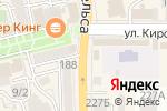 Схема проезда до компании МТС в Батайске