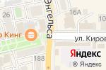 Схема проезда до компании Апрель-Интер в Батайске