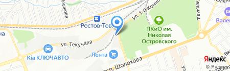 Биоконд на карте Ростова-на-Дону