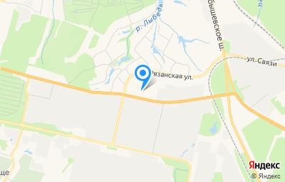 Местоположение на карте пункта техосмотра по адресу г Рязань, ул Рязанская, д 22А
